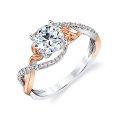 Parade Lyria Bridal Two-Tone Diamond Ring R4690/R1-WR