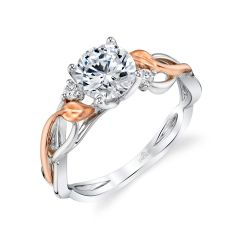 Parade Lyria Bridal Two-Tone Diamond Ring R4693/R1-WR