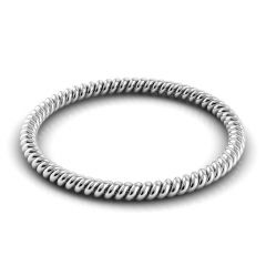 Danhov Eleganza Braided Wedding Band for Her ZB100