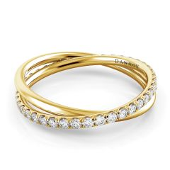 Women's Yellow Gold Wedding Band ZB103-A-Y
