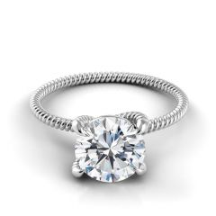 Danhov Eleganza Braided Engagement Ring ZE110
