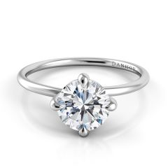 Solitaire Diamond Ring ZE139