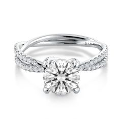 Braided Engagement Ring ze514uq, Eleganza Collection